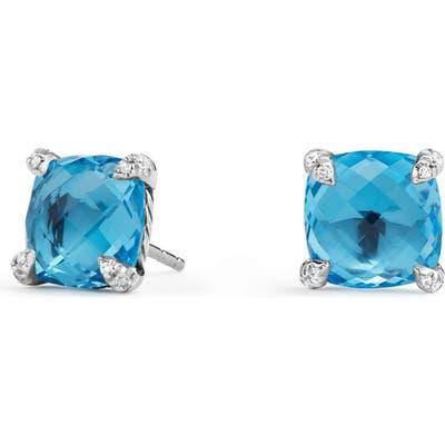 David Yurman Chatelaine Earrings With Diamonds