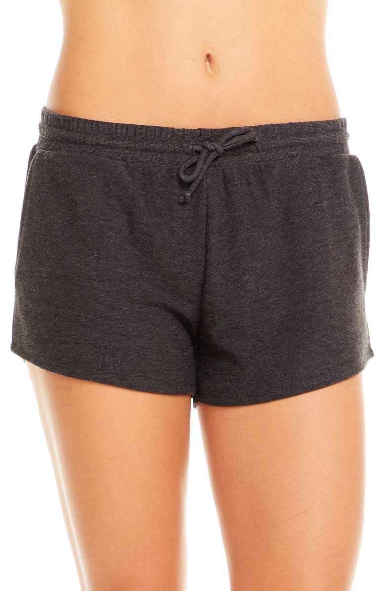 CHASER Cozy Knit Lounge Shorts, Main, color, 001
