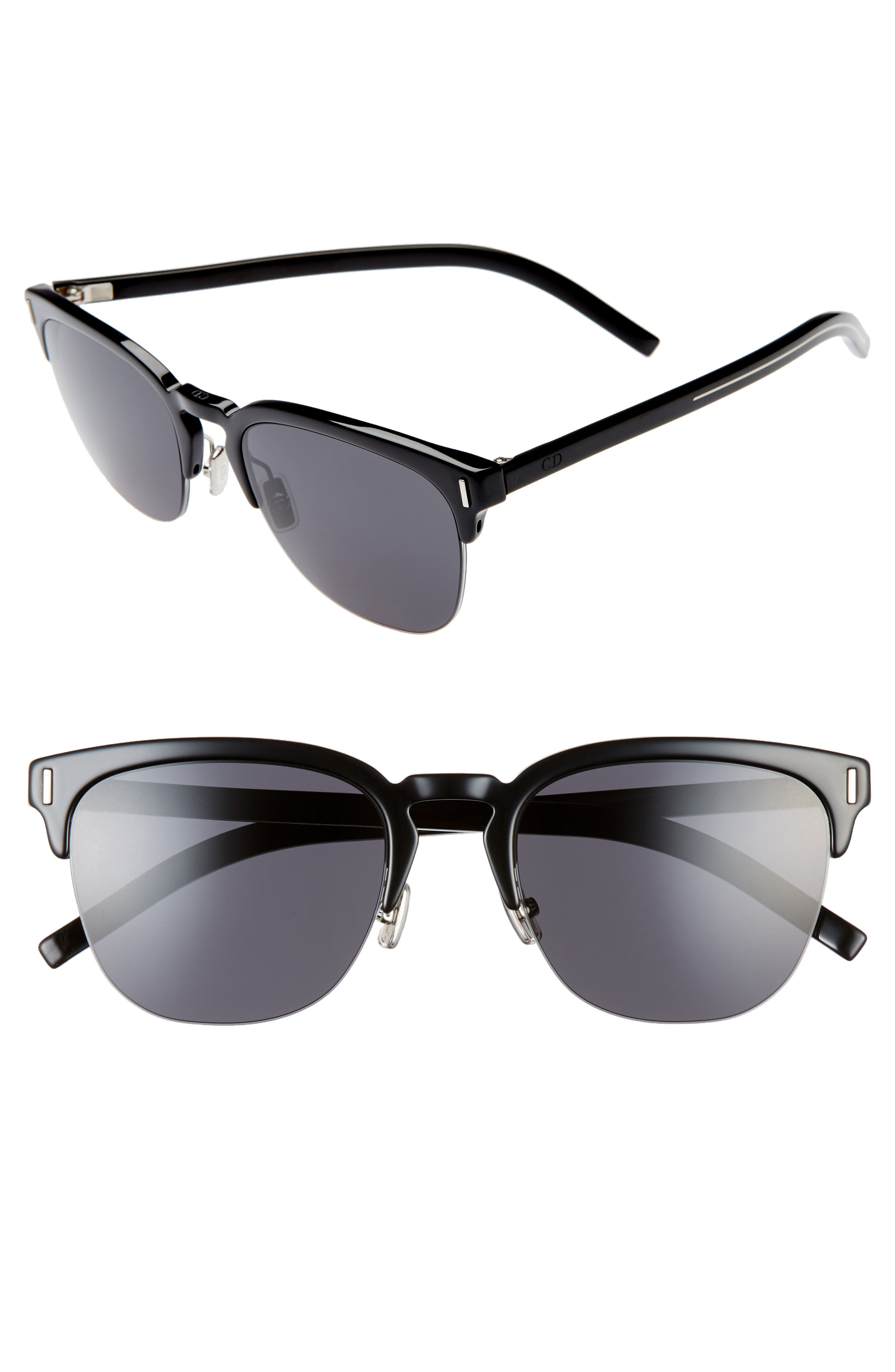 Dior Sunglasses Fraction 55mm Sunglasses