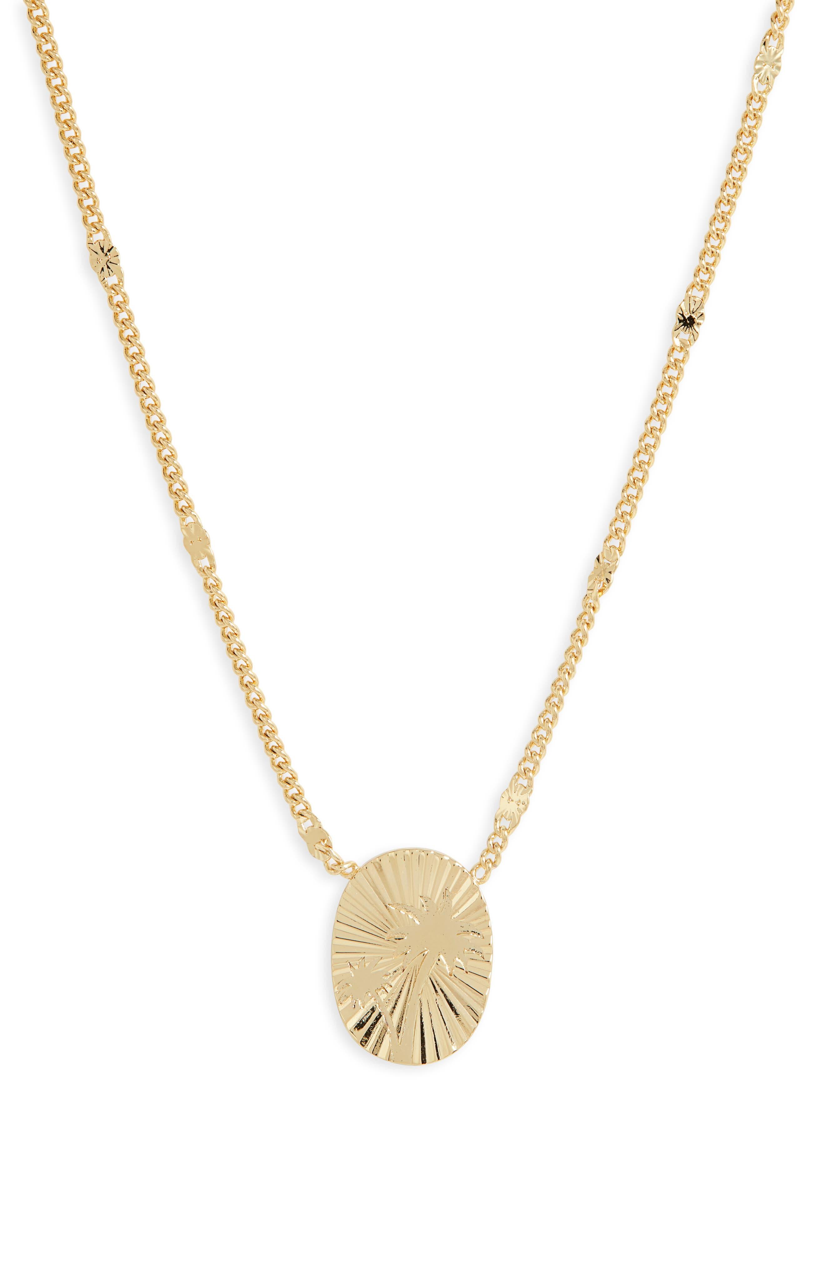 Surfside Pendant Necklace
