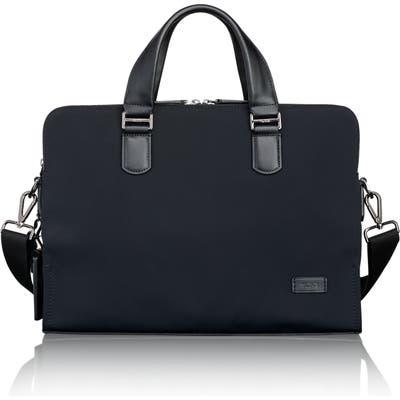 Tumi Harrison Seneca Slim Briefcase - Black
