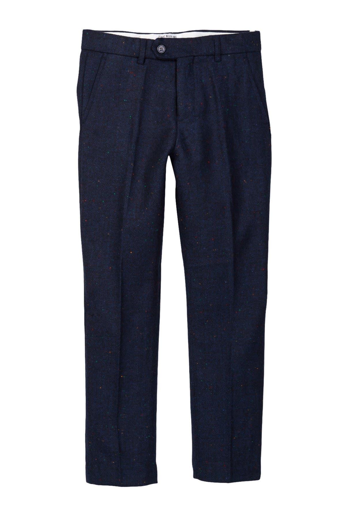 Image of Isaac Mizrahi Linen Pant