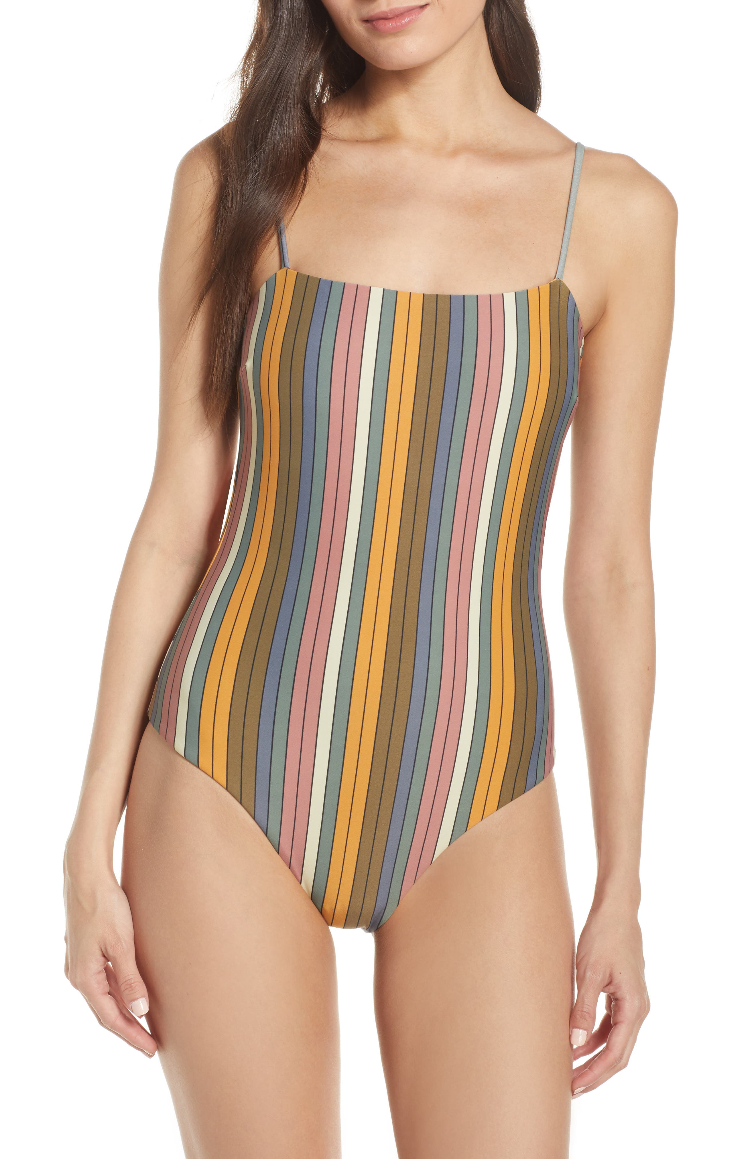 229d1eb361a07 O'Neill Lora One-Piece Swimsuit, Yellow