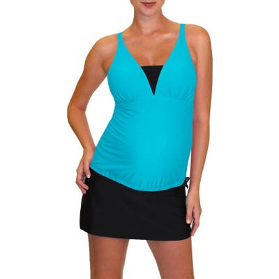 Mermaid Maternity Tankini Top