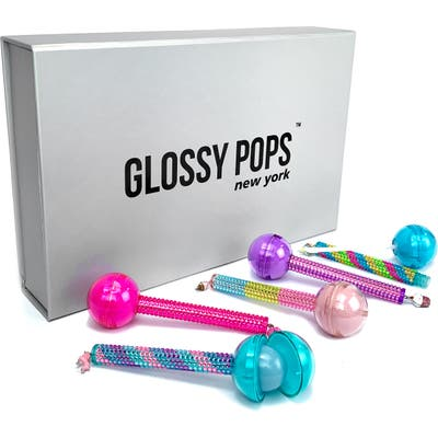 Glossy Pops 5-Pack Lip Balm & Lip Gloss Set - Assorted