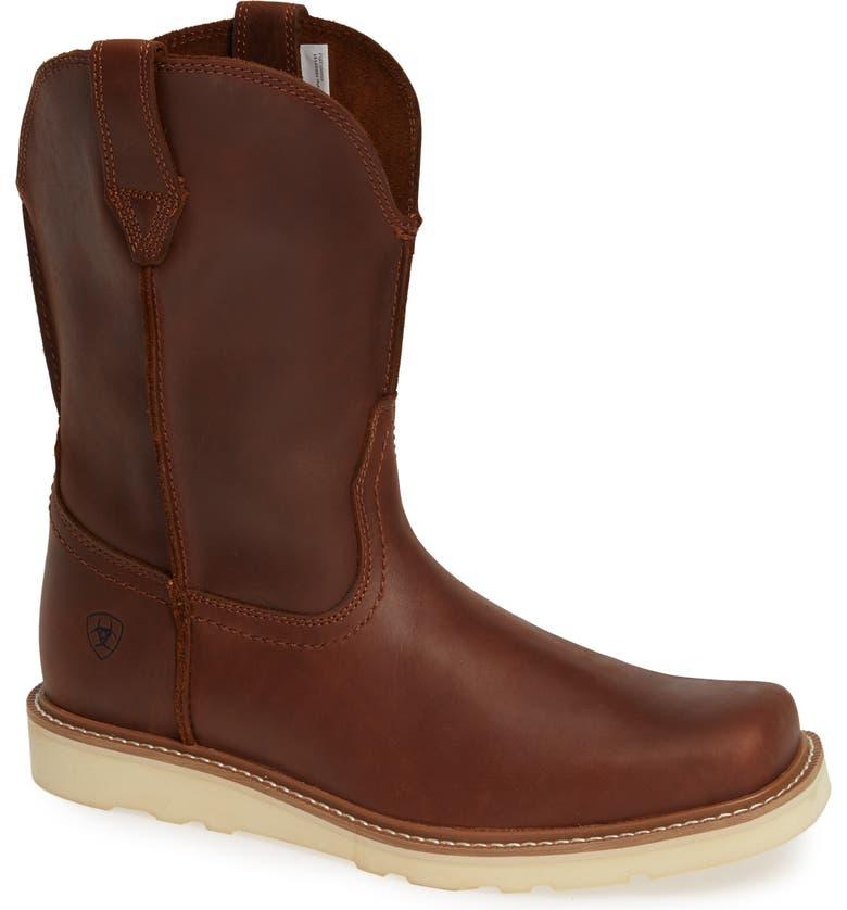 ARIAT Rambler Boot, Main, color, FOOT HILL BROWN