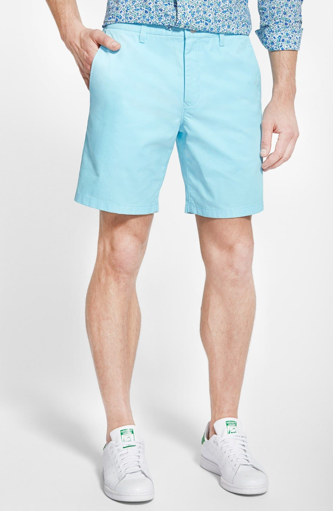 ,                             Washed Chino Shorts,                             Main thumbnail 62, color,                             415