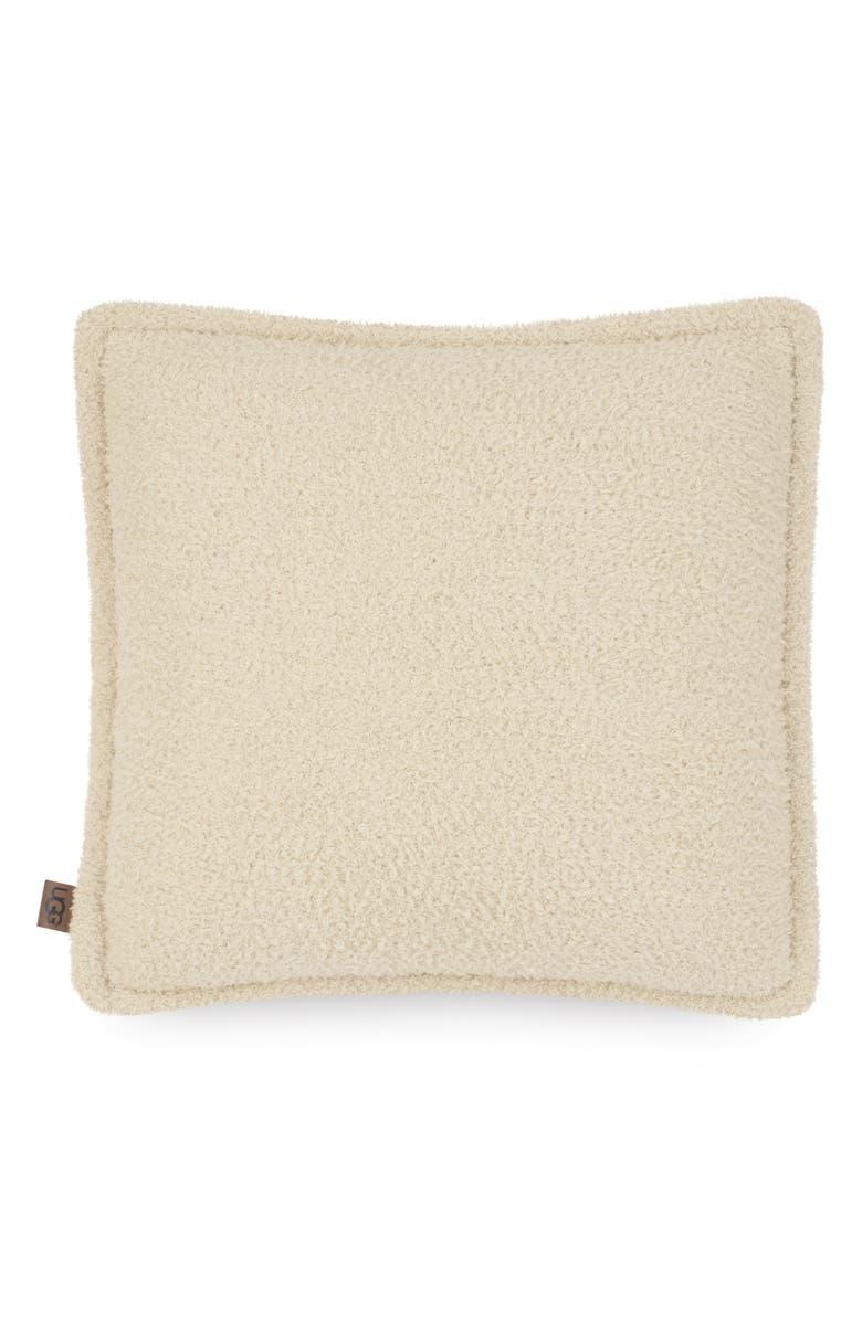 UGG<SUP>®</SUP> Ana Fuzzy Pillow, Main, color, PEBBLE