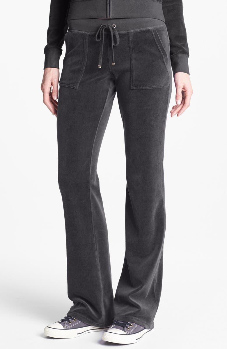 Juicy Couture Velour Pocket Pants Nordstrom
