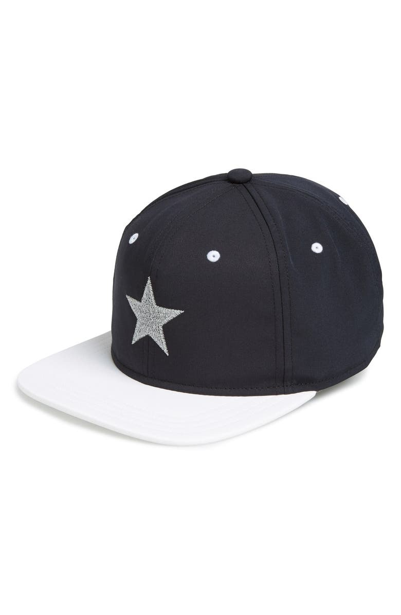 GENTS 'Starlight' Reflective Baseball Cap, Main, color, 004