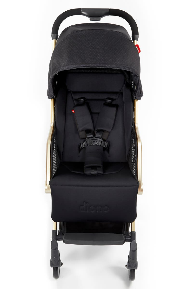 DIONO Traverze Luxe Super Compact Stroller, Main, color, BLACK GOLD