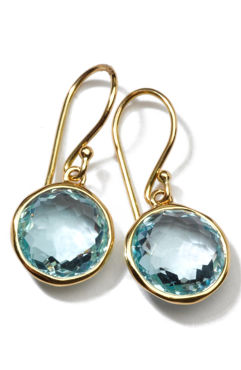 IPPOLITA Mini Lollipop Drop Earrings, Main, color, BLUE TOPAZ