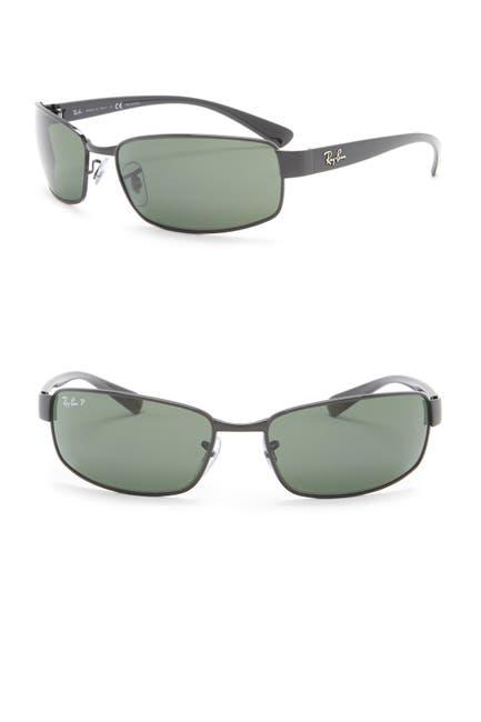 Image of Ray-Ban 62mm Rectangular Sunglasses