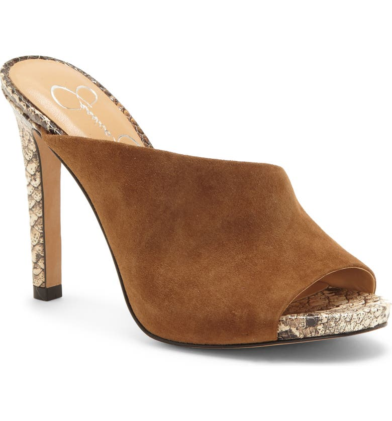 JESSICA SIMPSON Ryanne Slide Sandal, Main, color, CANYON TAN