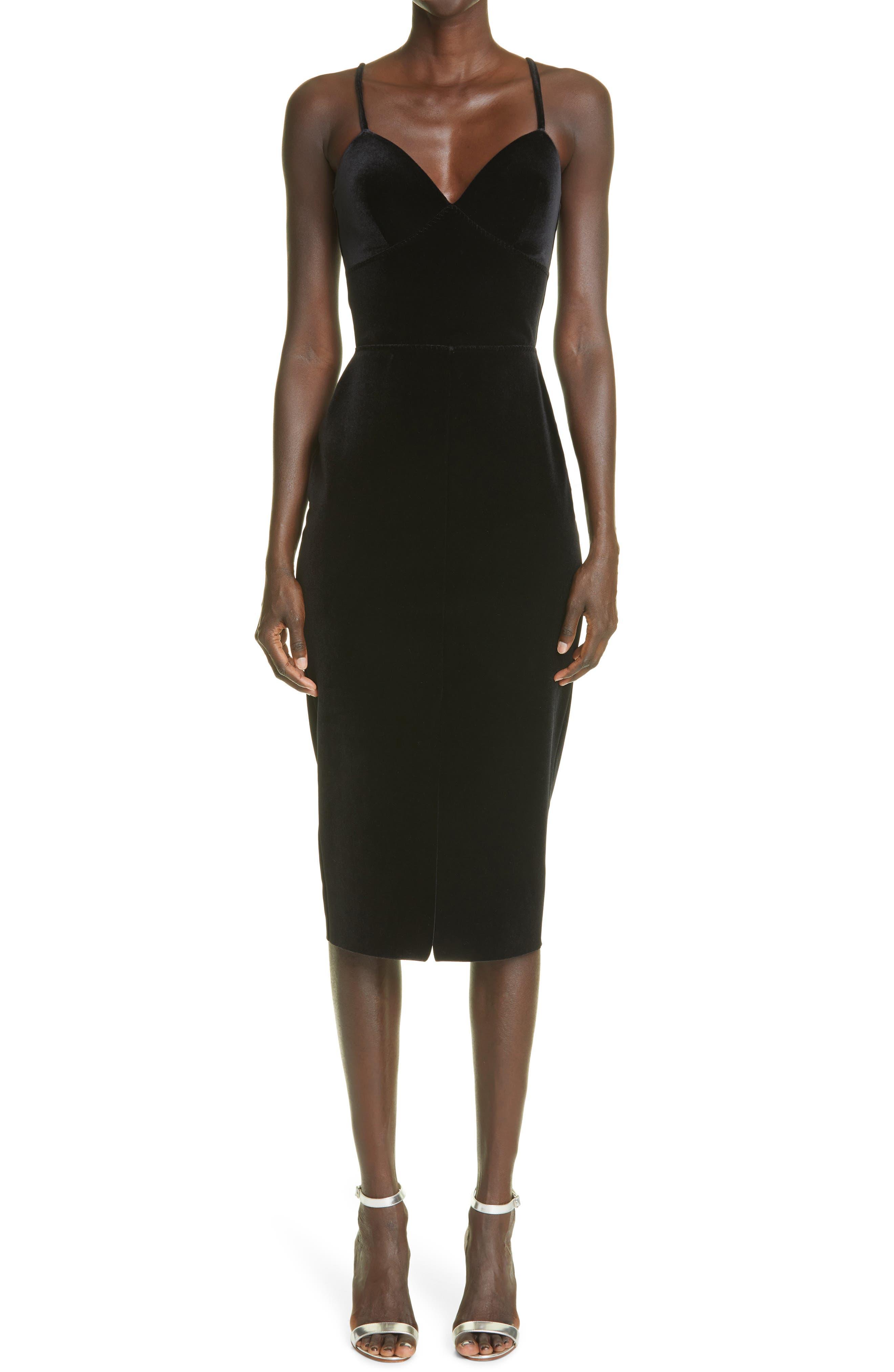 Stina Velvet Sleeveless Dress