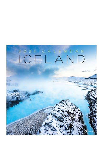 Image of TF Publishing 2021 Iceland Wall Calendar