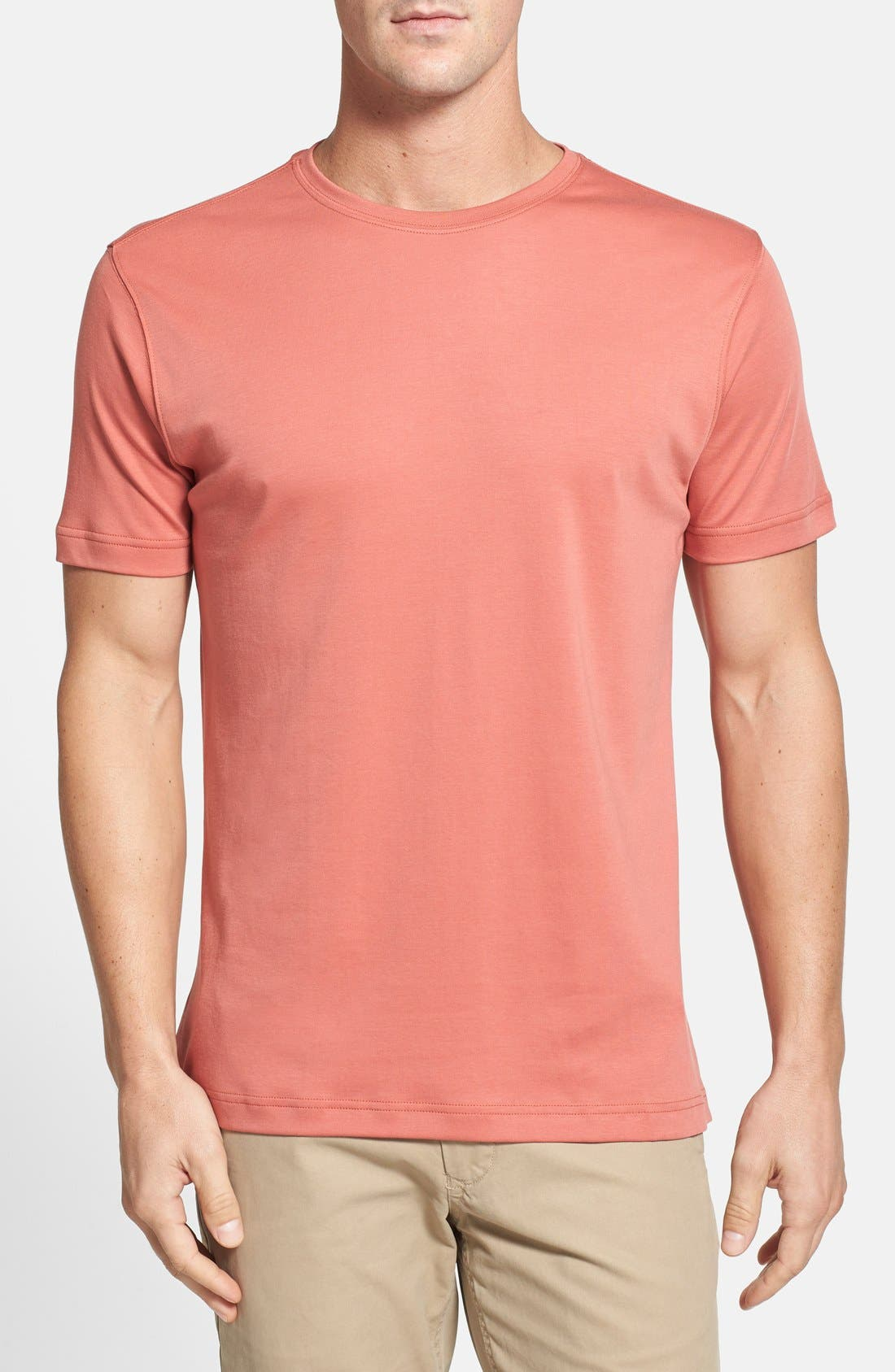 ,                             Georgia Crewneck T-Shirt,                             Main thumbnail 462, color,                             634