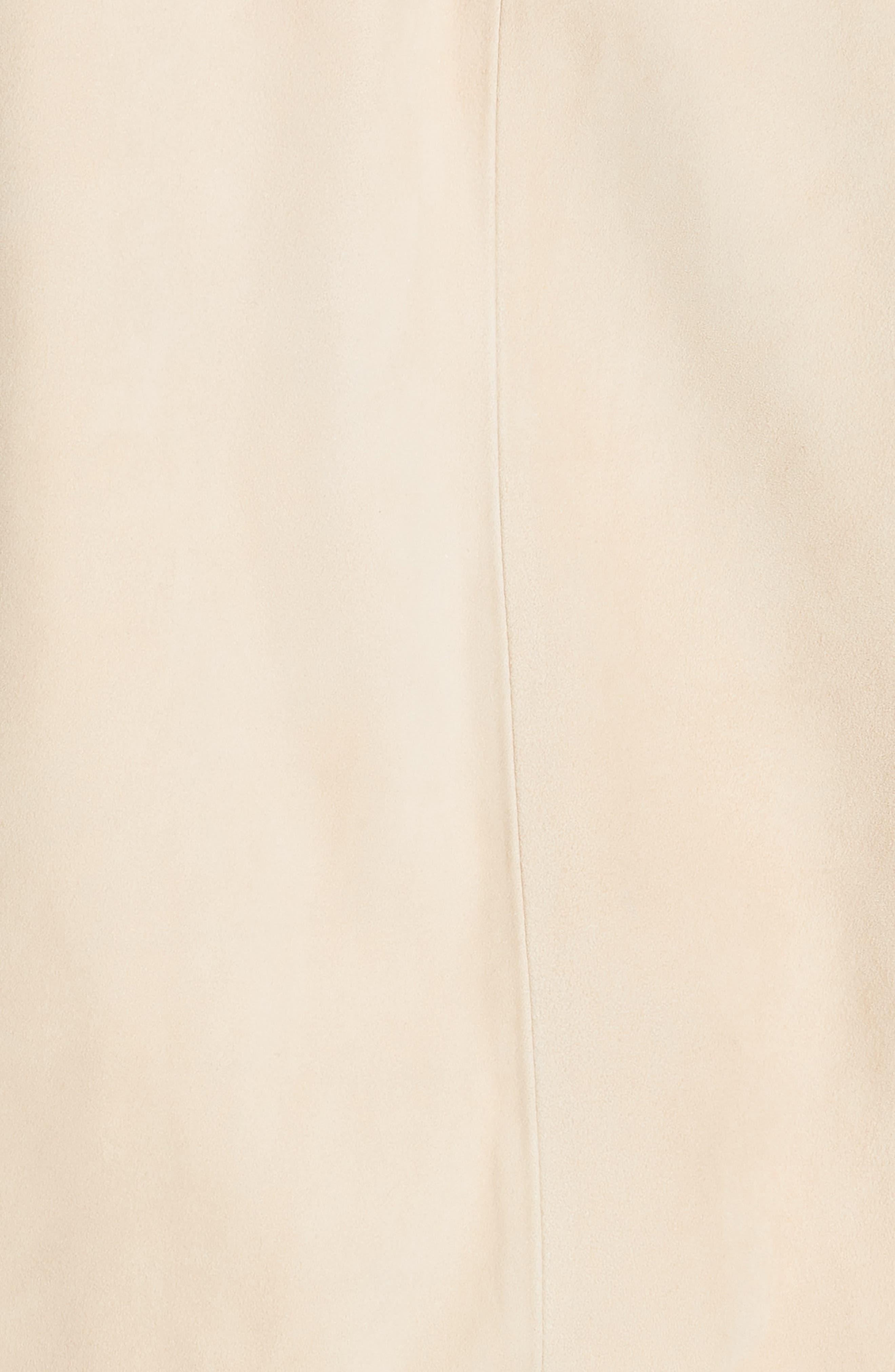 ,                             Suede Zip Hooded Jacket,                             Alternate thumbnail 5, color,                             FENNEL