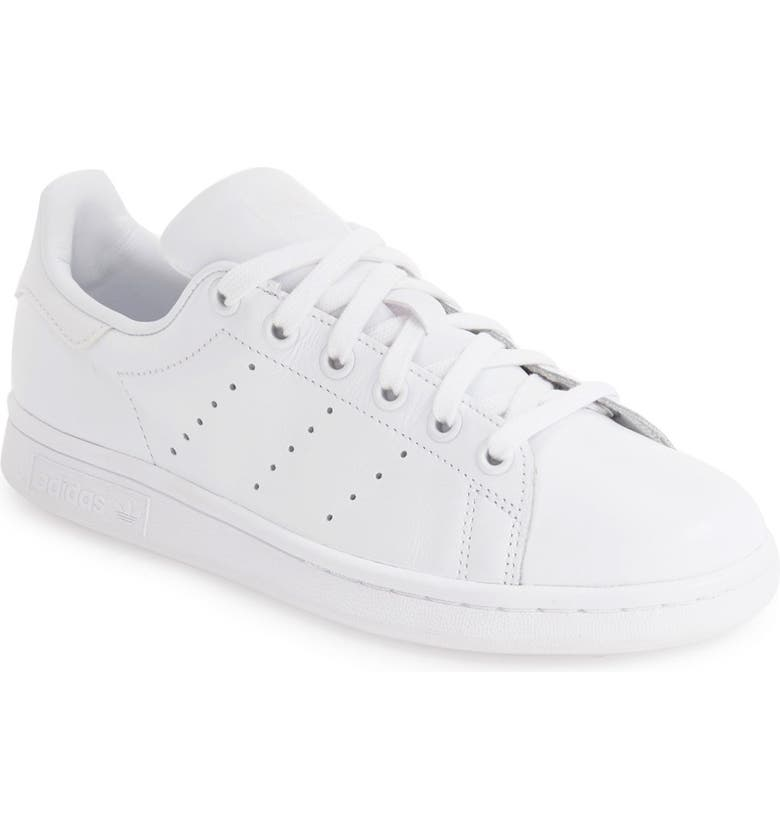 ADIDAS Stan Smith Sneaker, Main, color, WHITE/ WHITE/ WHITE