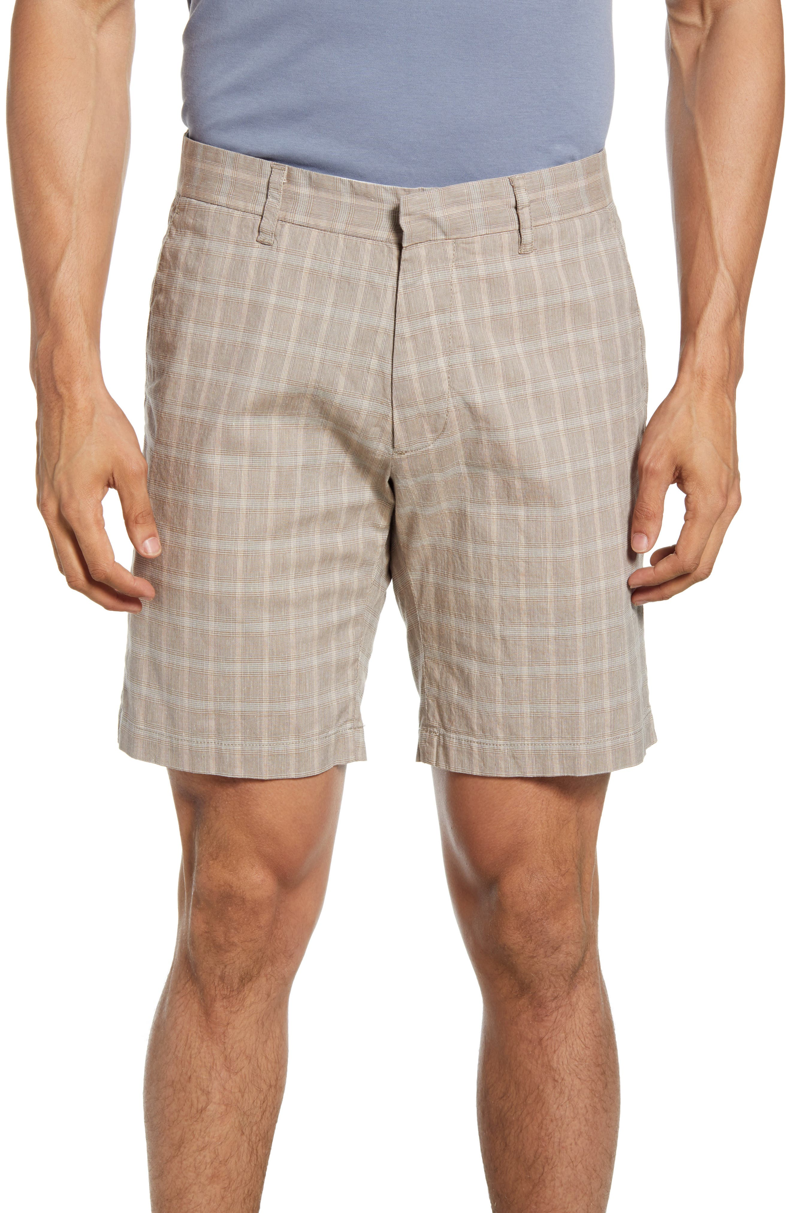 Image of Zachary Prell Plaid Tailored Fit Shorts