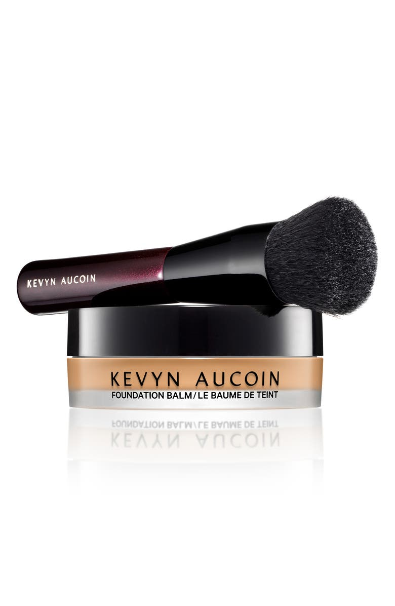 KEVYN AUCOIN BEAUTY Foundation Balm & Brush, Main, color, MEDIUM 06