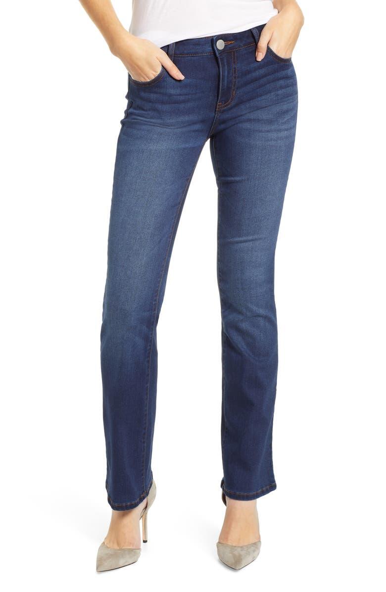 PROSPERITY DENIM Clean Flare Jeans, Main, color, KRIS