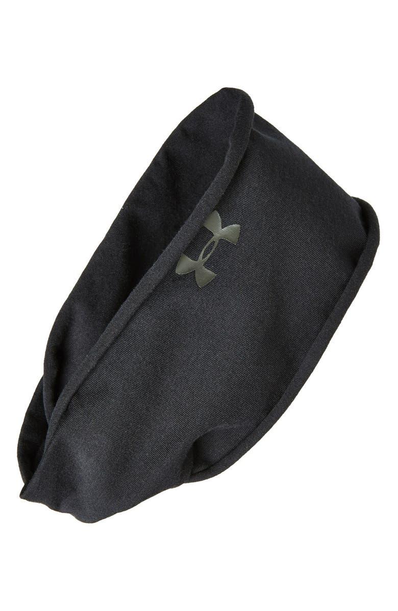 UNDER ARMOUR 'T-Shirt' Headband, Main, color, 001