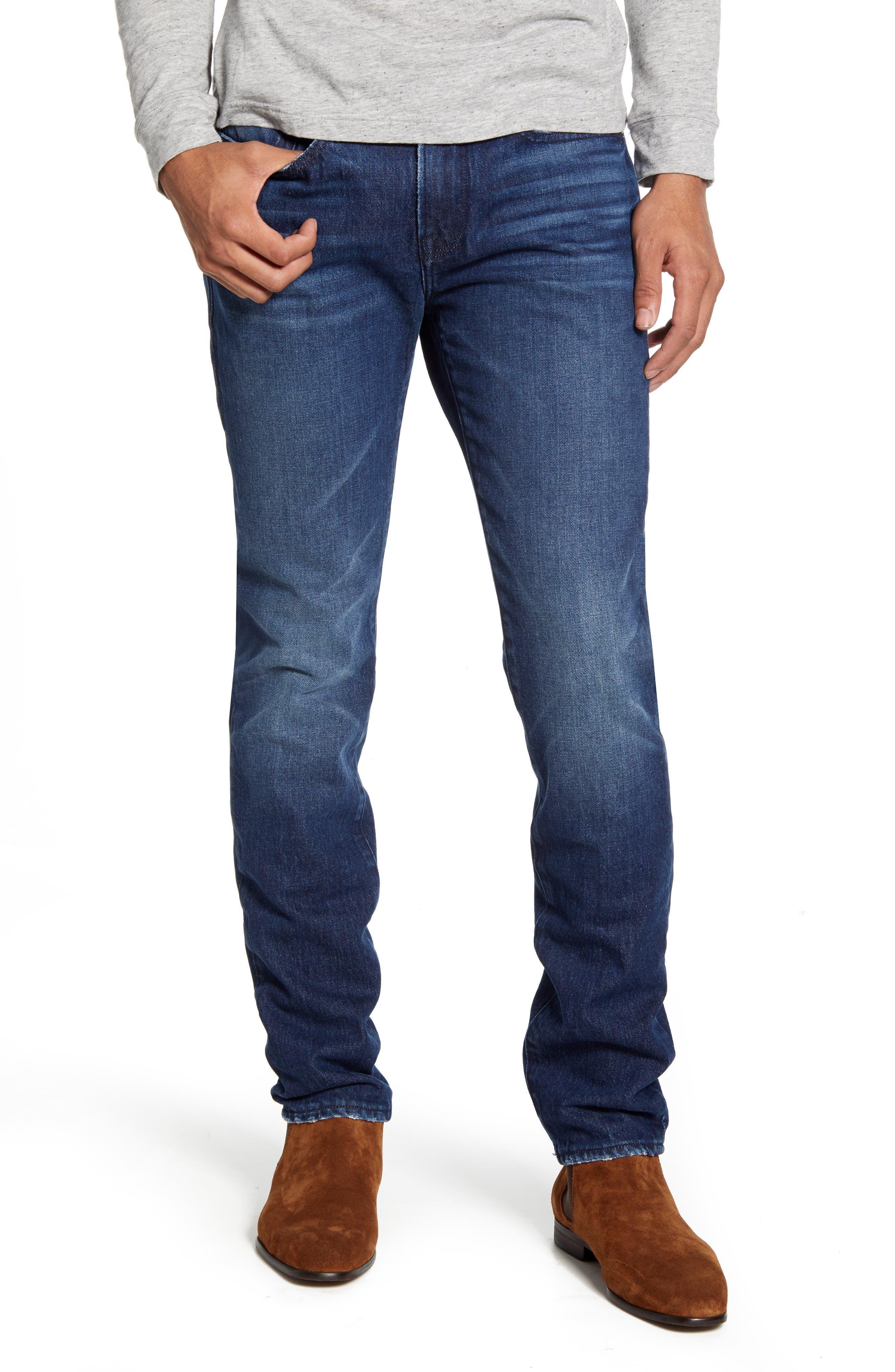 Image of FRAME L'Homme Mid Rise Skinny Jeans