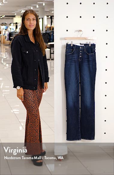 Le Mini Boot Button Fly Jeans, sales video thumbnail