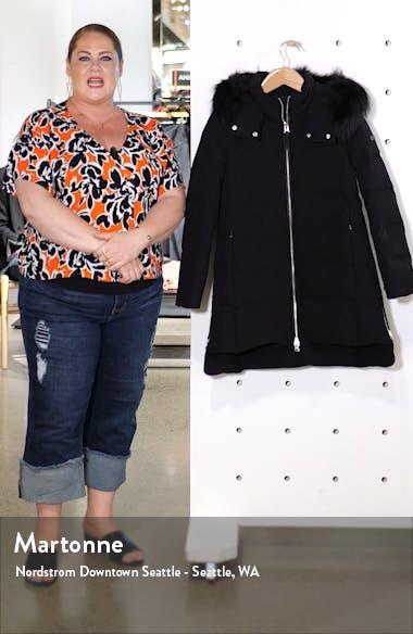 Down Hooded Jacket with Genuine Fox Fur Trim, sales video thumbnail