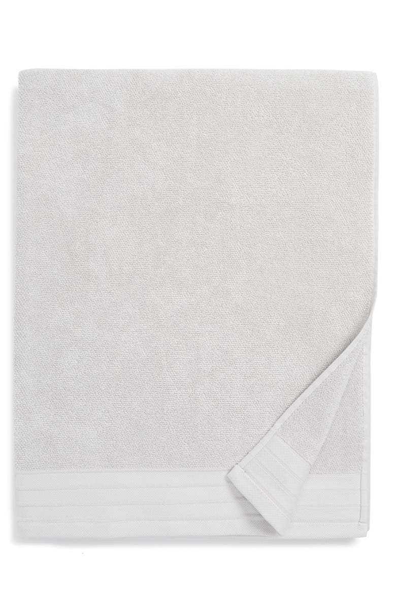 UGG<SUP>®</SUP> Classic Luxe Cotton Bath Sheet, Main, color, STONE
