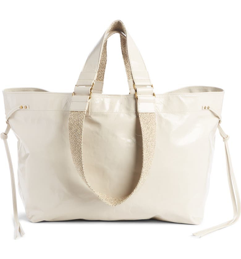 new-wardy-leather-tote by isabel-marant