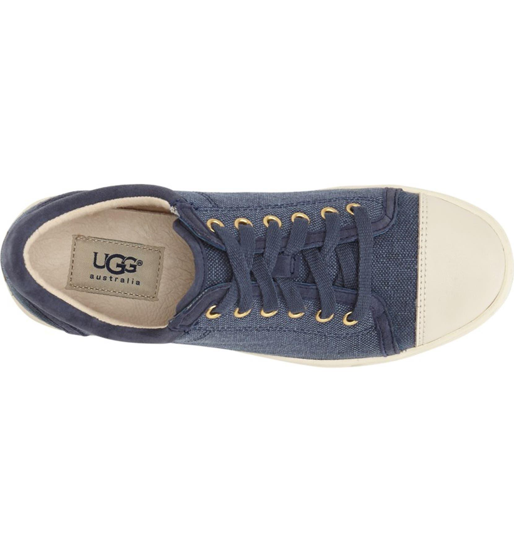 4b512fa220d UGG® Australia 'Taya' Canvas Sneaker (Women) | Nordstrom