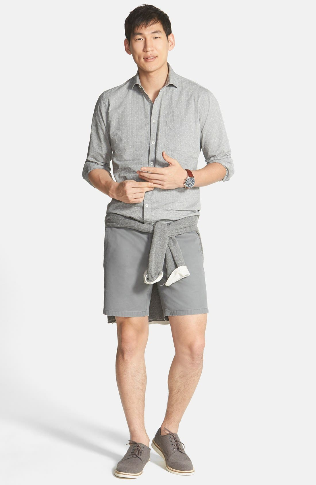 ,                             Washed Chino Shorts,                             Alternate thumbnail 11, color,                             020