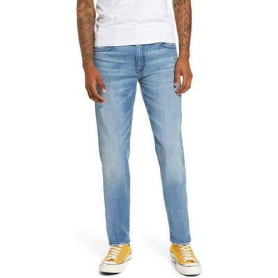 7 For All Mankind Paxtyn Skinny Fit Jeans, Blue