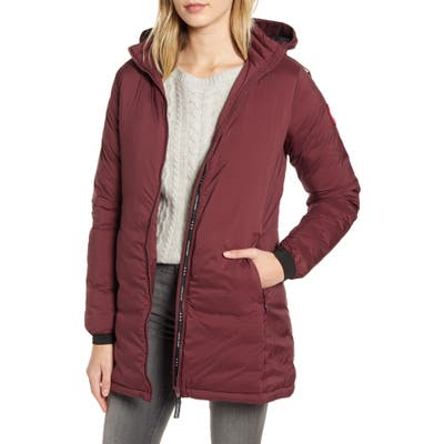 Canada Goose Camp Hooded Down Jacket, Purple