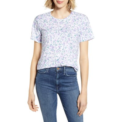 Lucky Brand All Over Floral Tee, Purple