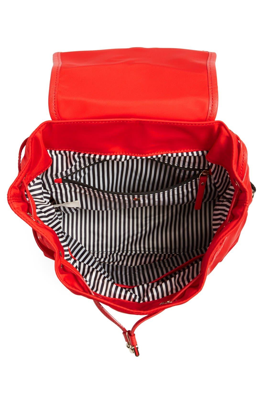 ,                             'molly' nylon backpack,                             Alternate thumbnail 8, color,                             600