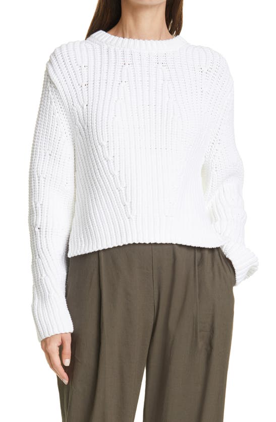 VINCE Clothing MIRRORED RIB PULLOVER