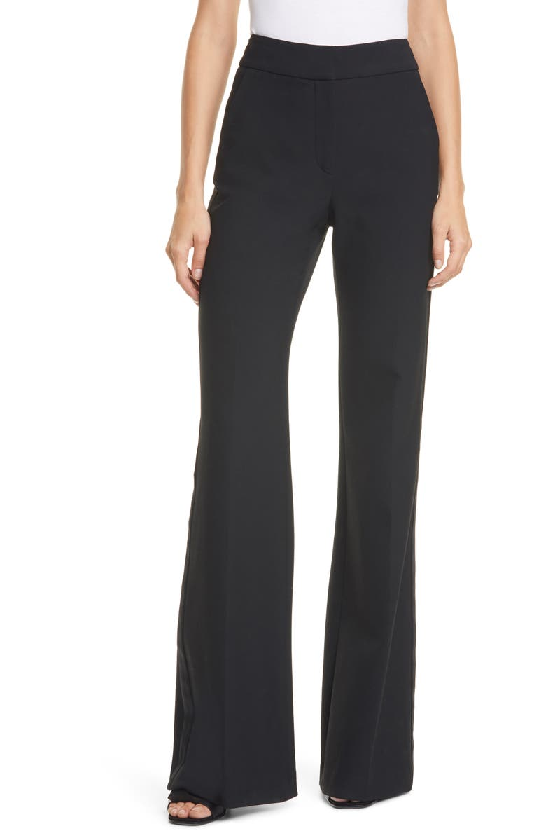 VERONICA BEARD Lebone Tuxedo Stripe Wide Leg Pants, Main, color, 001