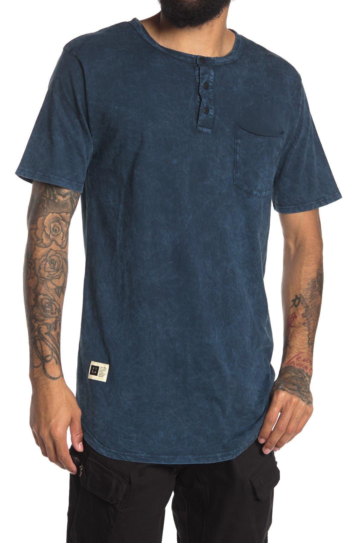 Image of LIRA CLOTHING Benny Short Sleeve Henley T-Shirt
