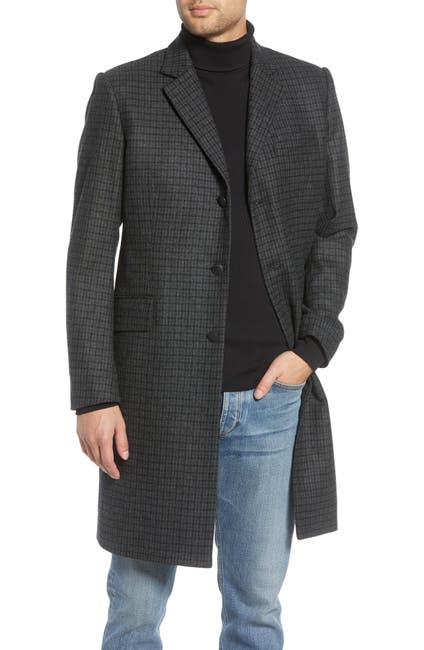 Image of Rag & Bone Rory Classic Fit Wool Coat