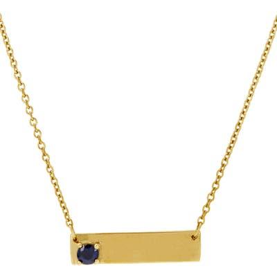 Adornia Bar Pendant Necklace