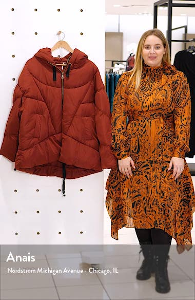 Hailey Hooded Puffer Jacket, sales video thumbnail