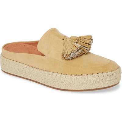 Gentle Souls By Kenneth Cole Nohl Platform Mule- Yellow