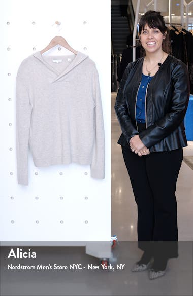 Cross Front Hooded Sweater, sales video thumbnail