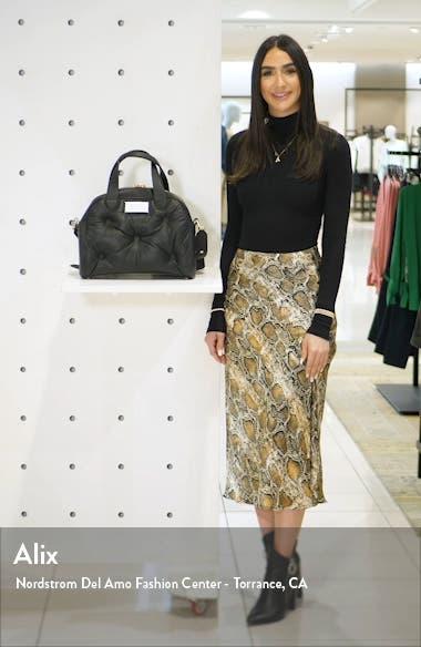 Medium Glam Slam Leather Satchel, sales video thumbnail