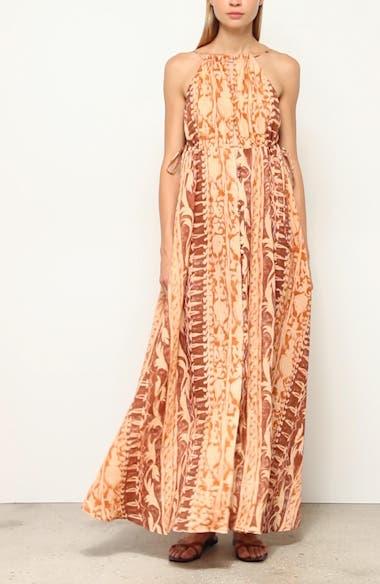Agatha Linen Maxi Dress, video thumbnail