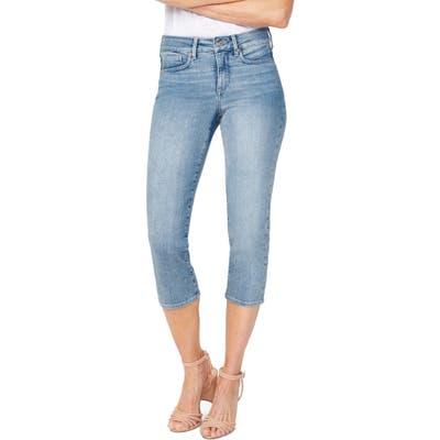 Nydj Capri Straight Leg Jeans, Blue