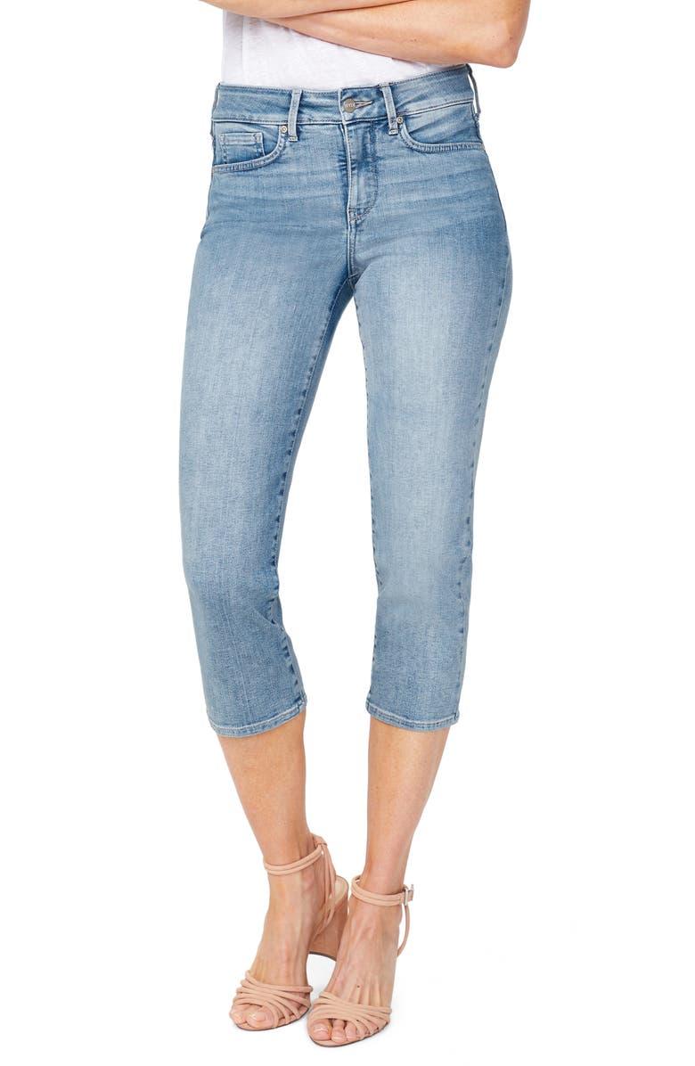 NYDJ Capri Straight Leg Jeans, Main, color, DREAMSTATE